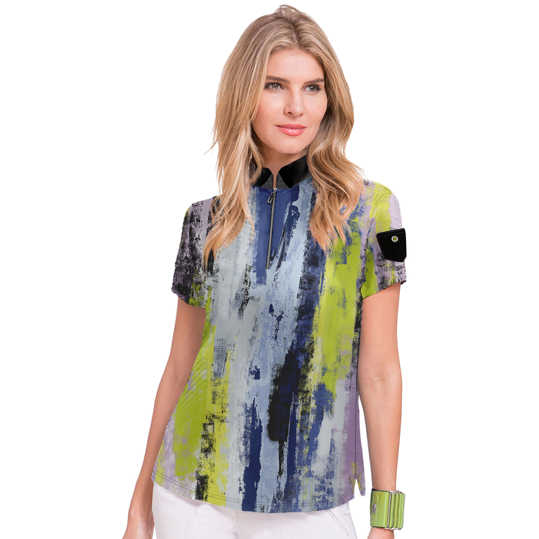 Voltage Collection: Short Sleeve Kyoto Print Top