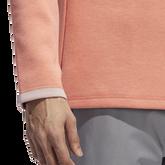 Alternate View 5 of Long Sleeve Quarter Zip Blade Collar Sweater