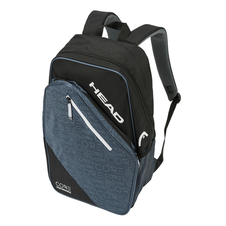 Head Core Backpack - Black/White/Grey