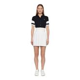 Alternate View 1 of Natasha Short Sleeved Colorblock Polo Shirt
