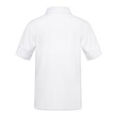 Alternate View 1 of Boys' Short Sleeve Ribbed Collar Tennis Polo