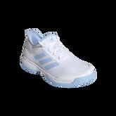 Alternate View 3 of Adizero Club Kids Tennis Shoe - White/Blue