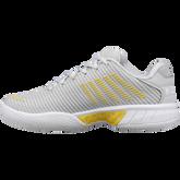 Alternate View 4 of Hypercourt Express 2 Women's Tennis Shoe - Grey/Yellow