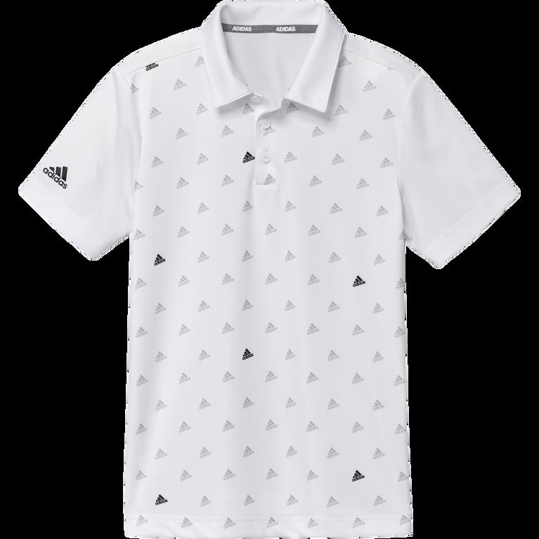 Boys Printed Polo Shirt