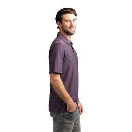 Left Foot Forward Stripe Pocket Polo