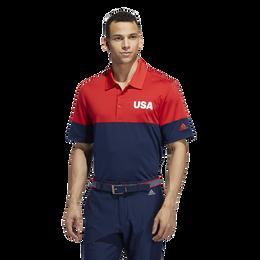 USA Golf All Day Novelty Golf Polo