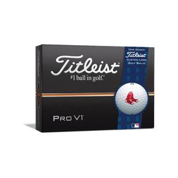 Boston Red Sox Pro V1 Golf Balls