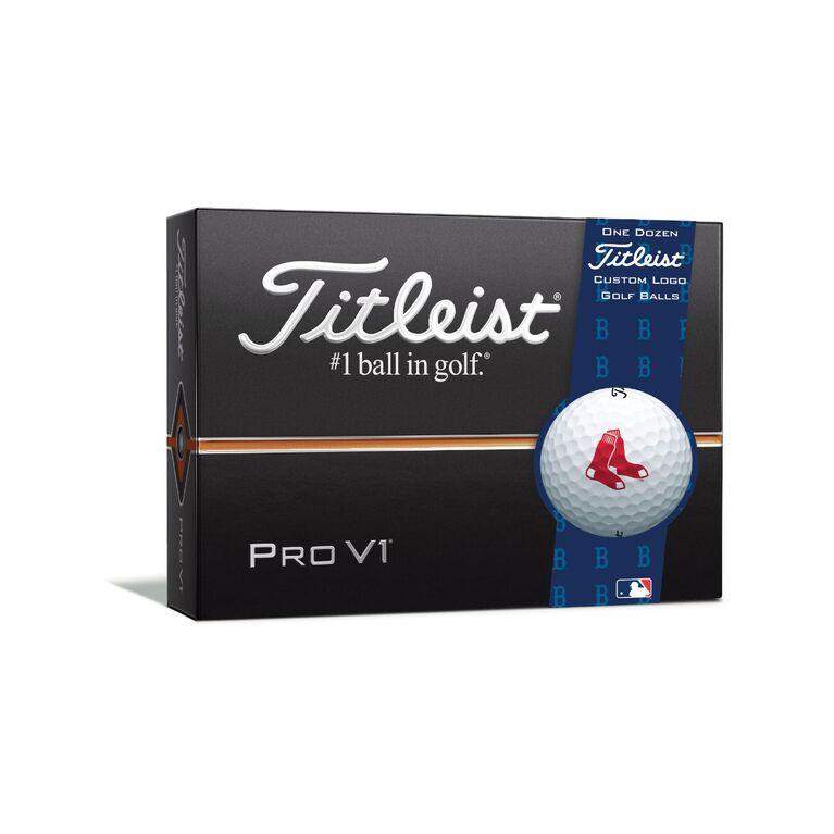 Boston Red Sox Pro V1 Golf Balls