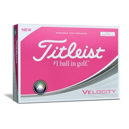 Titleist Velocity Golf Balls - Pink (Prior Generation)