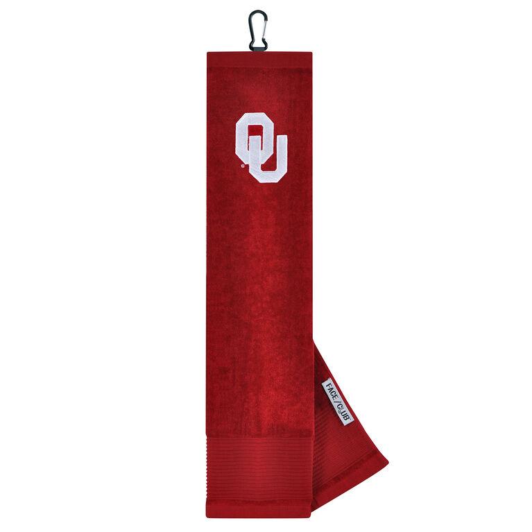 Team Effort Oklahoma Sooners Tri-Fold Towel