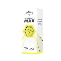 Supersoft MAX Yellow Golf Balls