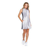 Alternate View 1 of Essentials Sandra Sleeveless Striped Dress