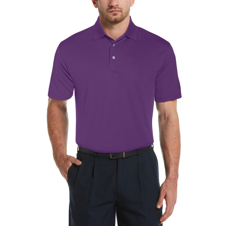 Airflux Solid Short Sleeve Golf Polo Shirt