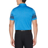 Alternate View 1 of Soft Horizontal Stripe Short Sleeve Golf Polo Shirt