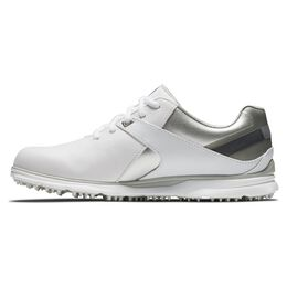 Pro|SL Women's Golf Shoe - White/Silver