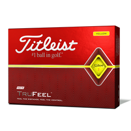 TruFeel Yellow Golf Balls - Personalized