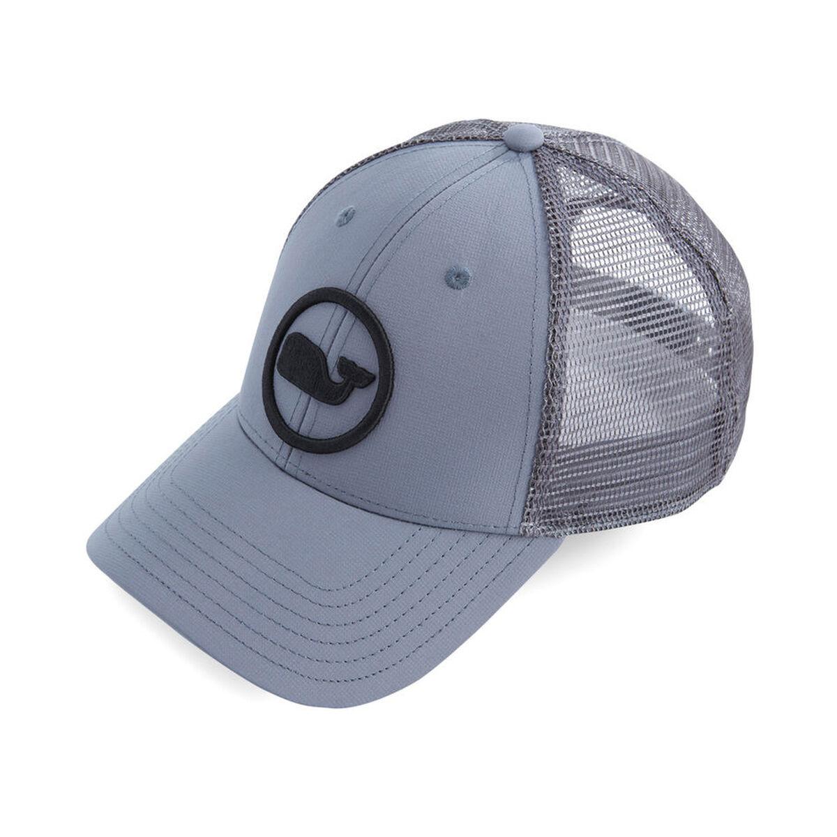 Images. Vineyard Vines Whale Dot Performance Trucker Hat ac38b74533f9