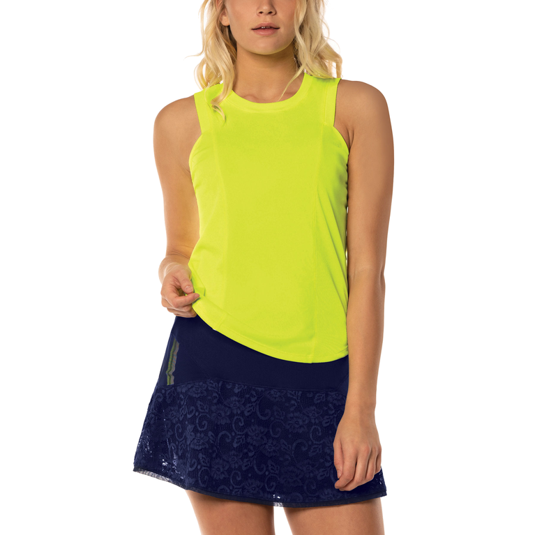 Lace Yourself Collection: Starter Ribbed Tank Top