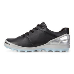 ECCO Cage Pro GTX Women's Golf Shoe - Black/Silver