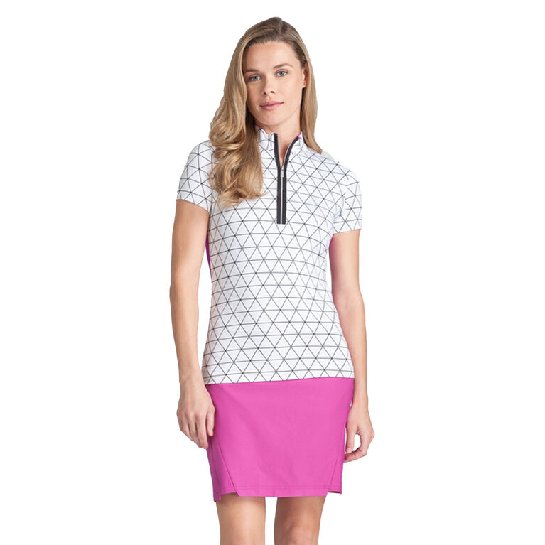 Tail Neve Short Sleeve Prism Polo