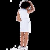Alternate View 3 of Sportif Collection: Zebra Collar Sleeveless Polo Shirt