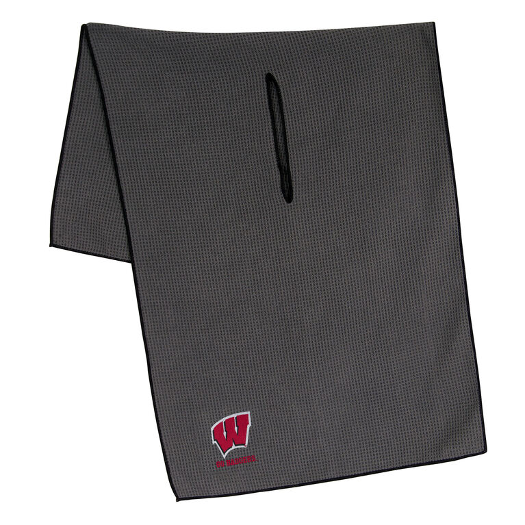 Team Effort Wisconsin Badgers Microfiber Towel