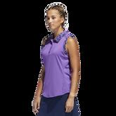Alternate View 3 of Ultimate365 Printed Sleeveless Polo Shirt