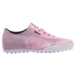 Monolite Cat Woven Women's Golf Shoe - Pink/Navy