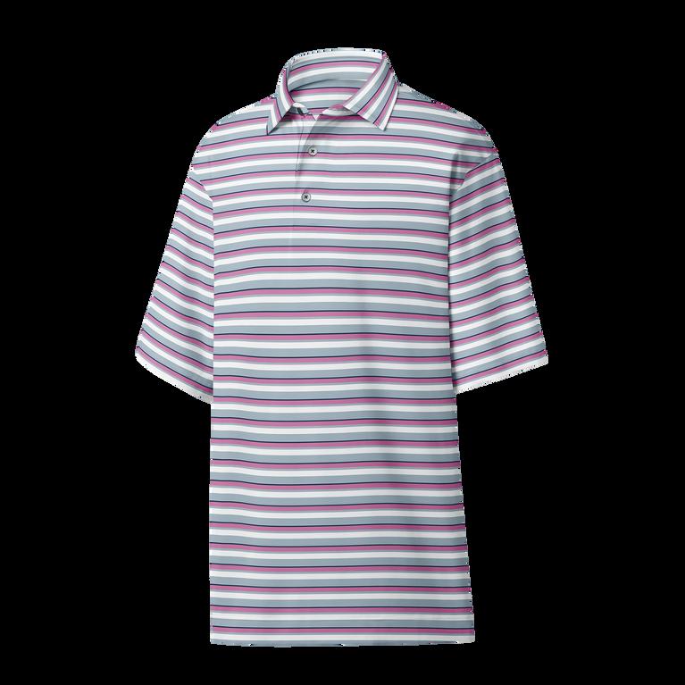 Lisle Multi Stripe Polo