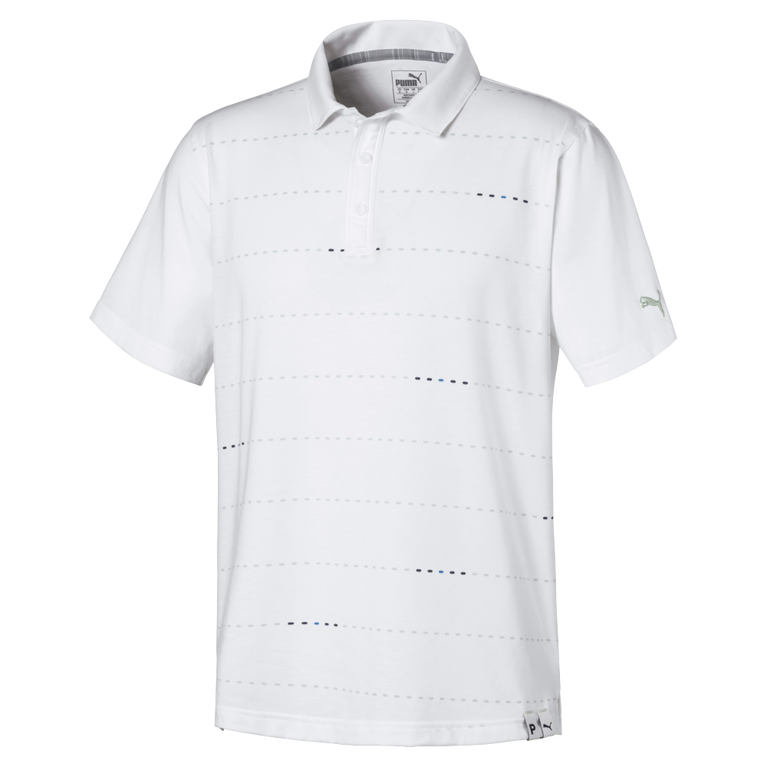 Fusion Dot Golf Polo