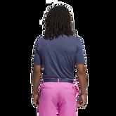 Alternate View 2 of Mesh Broken-Stripe Polo Shirt