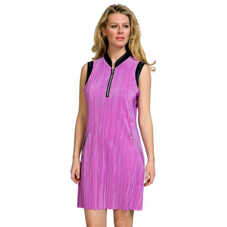 Jamie Sadock Crunch Fabric Dress