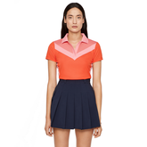 Lilly Color Block Polo Shirt