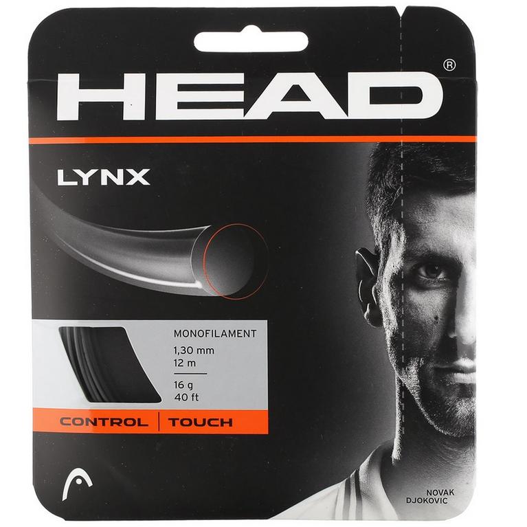 Head Lynx 16 Gauge String - Anthracite