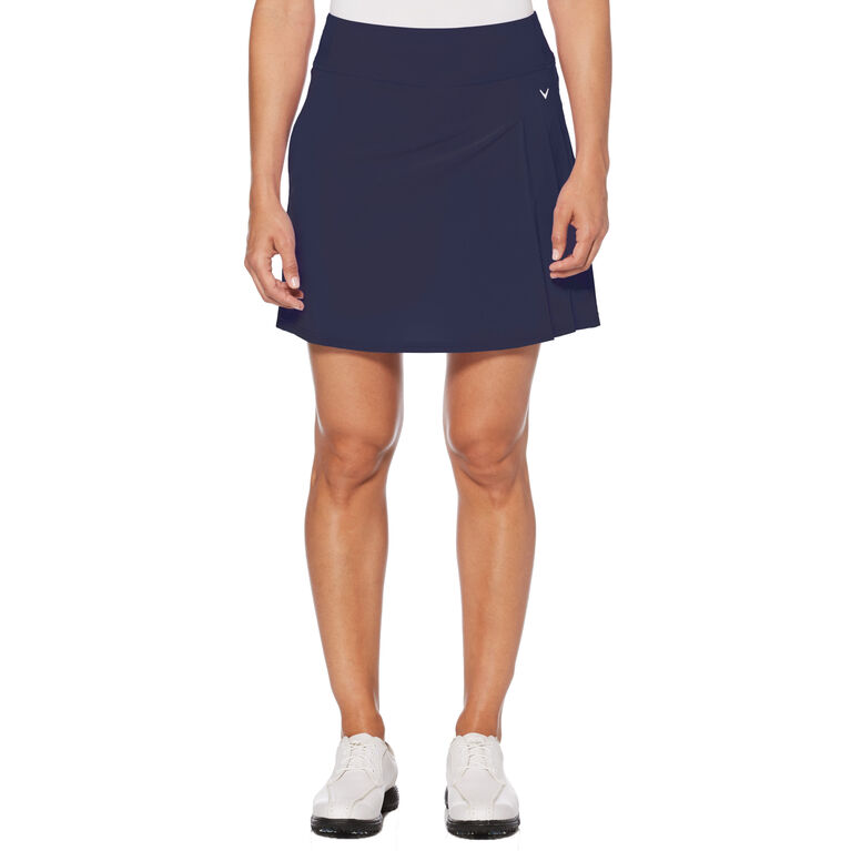 Teaberry Group: Side Pleat Stretch Golf Skort