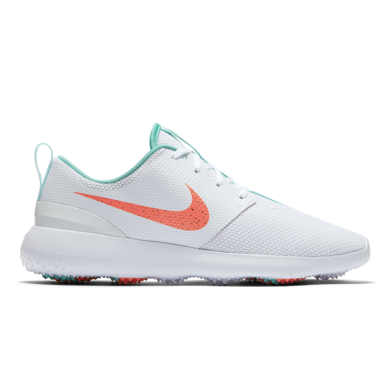 Roshe G Men's Golf Shoe - White/Green (Previous Season Style)