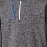 FootJoy Heather Pinstripe Half-Zip Pullover
