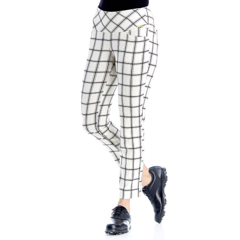 Swing Control Checkers Masters Ankle Pant