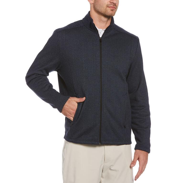Sherpa-Back Golf Jacket