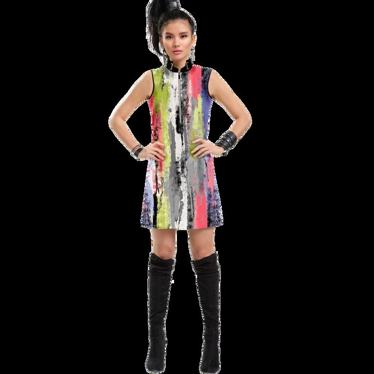 Mimosa Collection: Kyoto Print Sleeveless Dress