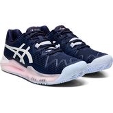 Alternate View 2 of GEL RESOLUTION 8 CLAY Women's Tennis Shoes - Navy/White