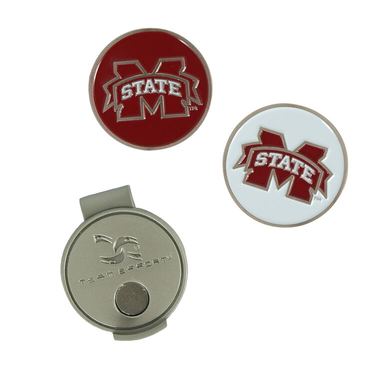 Team Effort Mississippi State Bulldogs Hat Clip