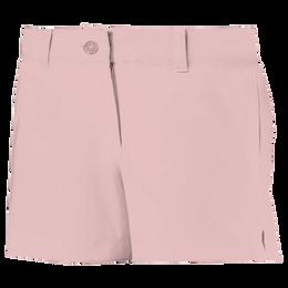 Junior Girls Solid Golf Shorts