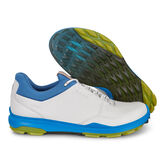 ECCO BIOM Hybrid 3 GTX Men's Golf Shoe - White/Blue