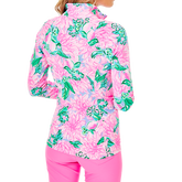 Alternate View 2 of Justine Luxetic Pineapple Paradise Quarter Zip Pull Over