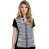 Super Nova Collection: Short Sleeve Stripe Front Top