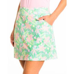 Lilly Floral Pull-On Skort