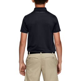 Performance Textured Boys' Golf Polo Shirt