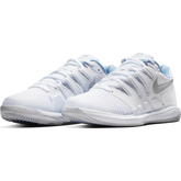 Alternate View 4 of Air Zoom Vapor X Women's Tennis Shoe - White/Blue