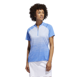 Minted Blues Collection: Ombre Short Sleeve Polo Shirt
